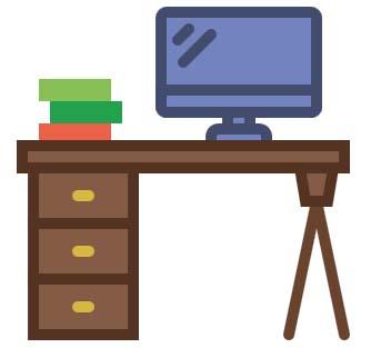میز مناسب کار با کامپیوتر